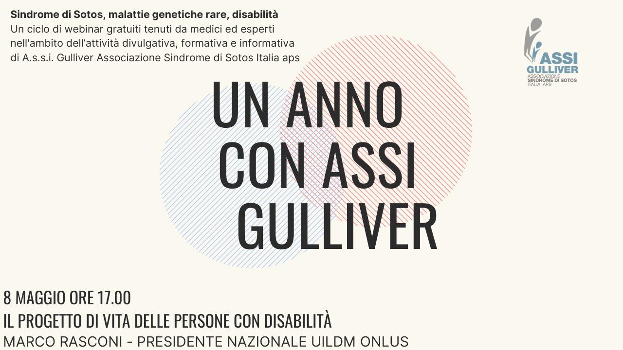 Webinar: Un anno con ASSI Gulliver – Il Progetto di Vita delle persone con Disabilità